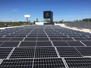Mercedes-Benz of The Woodlands 319-kW System