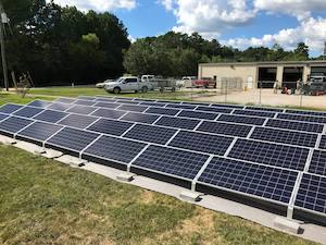 Bowmore Investments 18-kW Ground-Mount Solar Energy System